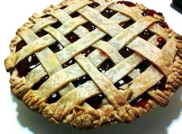 Home Made Cherry Pie Recipe