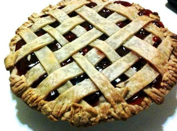 Home Made Cherry Pie Recipe