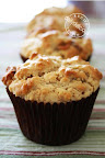 SNICKERS AND PEANUT-BUTTER MUFFINS
