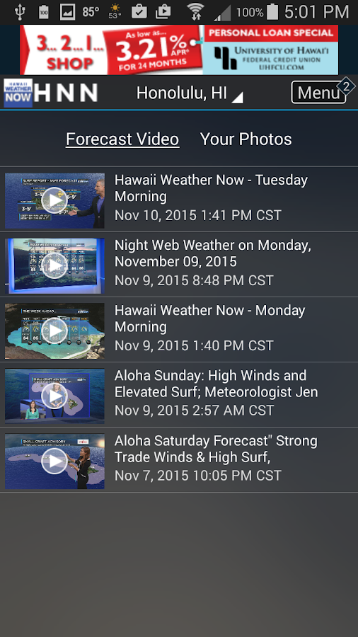 Hawaii News NOW WeatherNOW- screenshot