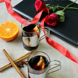 Spiced Mulled Wine - My Valentine's Day Story