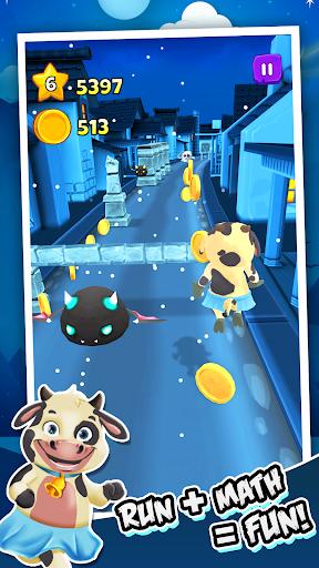 Toon Math: Endless Run and Math Games apkpoly screenshots 4