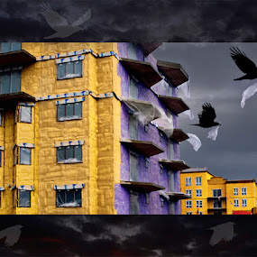 building --> nesting by Marianna Armata - Digital Art Places