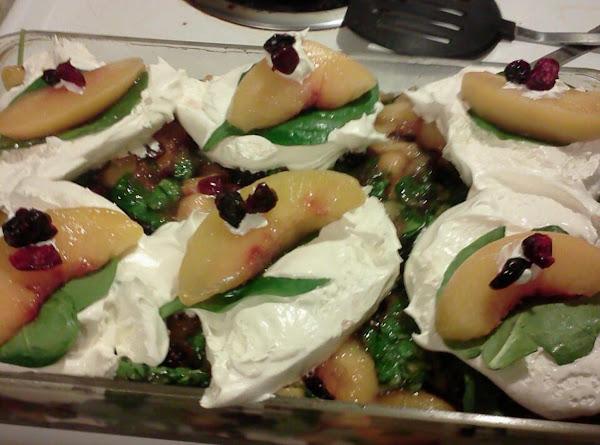 Spinach/peach Salad Recipe