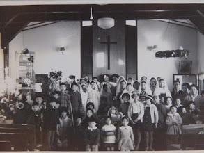 Photo: 61年恒例のCS生徒によるペイジェント。