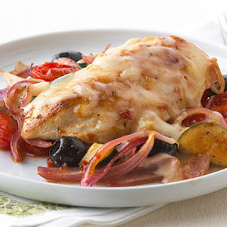 Mediterranean Mozza-Chicken