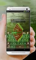 Screenshot of Green lizard GO Keyboard