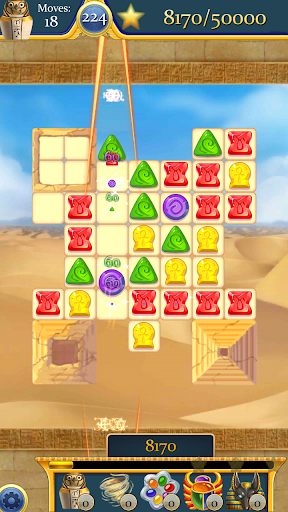 Curse of the Pharaoh - Match 3 screenshot 6
