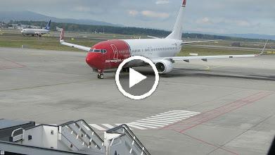 Video: Norwegian dreht auf der Stelle