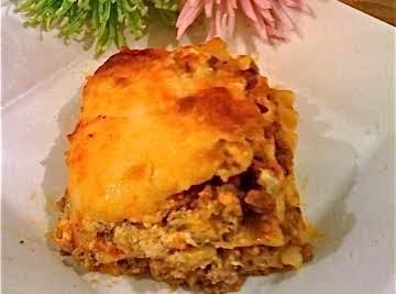 "My ""Famous"" Lasagna"