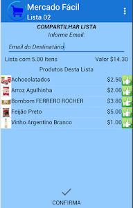 Lista de Compras Mercado Facil screenshot 3