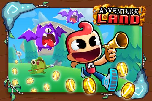 Adventure Land - Wacky Rogue Runner Free Game screenshot 1
