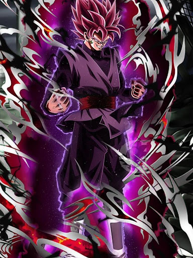 Black Goku Super Saiyan Rose HD Offline screenshot 5