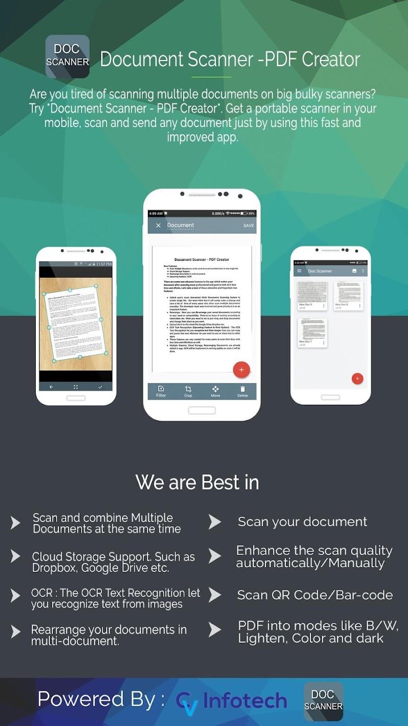 Document Scanner - PDF Creator Screenshot 7
