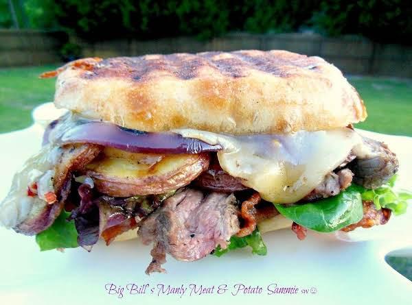 Big Bill's Manly Meat & Potato Sammie
