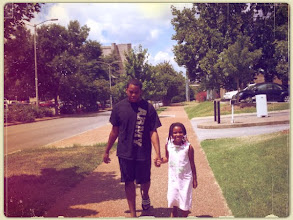 Photo: Kamau walks with Kaleya 7/29/11