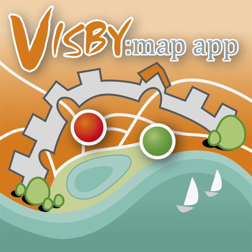 Visby map app 旅遊 LOGO-玩APPs