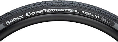 Surly ExtraTerrestrial Tire - 700 x 41, Tubeless, Black/Slate, 60tpi alternate image 1