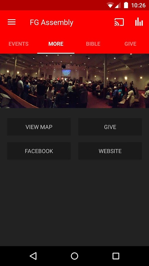 Forest Grove Assembly of God- screenshot