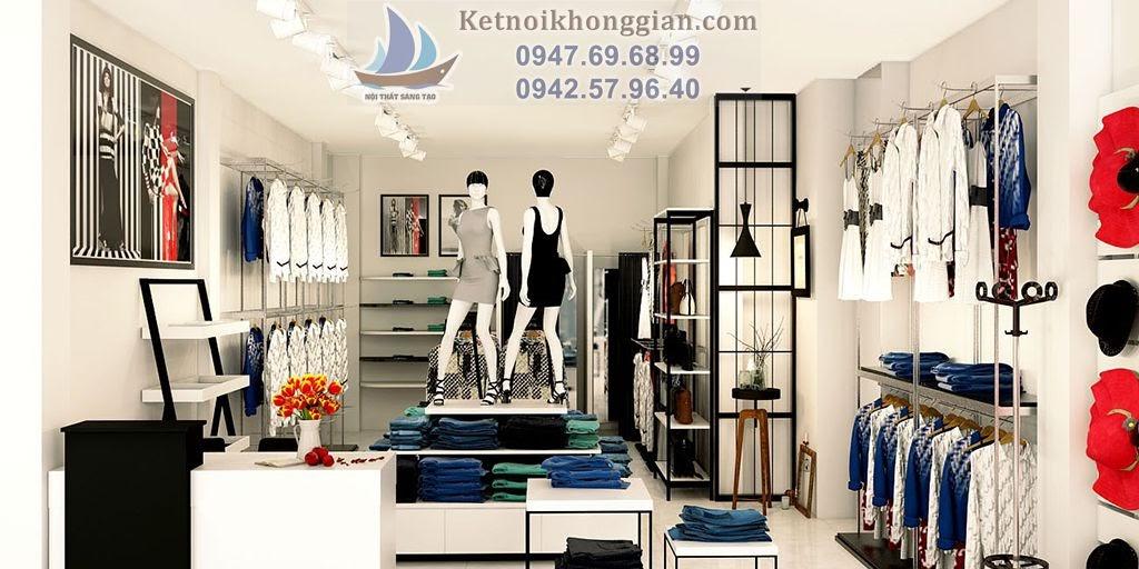 thiết kế cửa hàng thời trang chất lượng cao