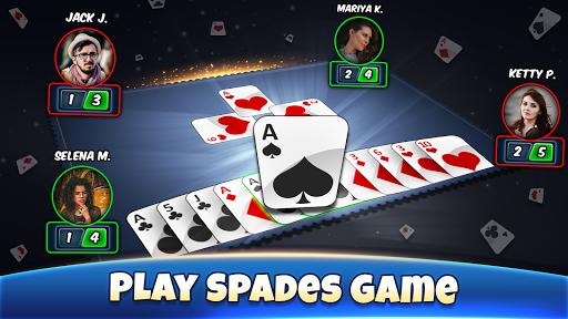 Spades - Play Free Offline Card Games 7.8 APK MOD screenshots 2