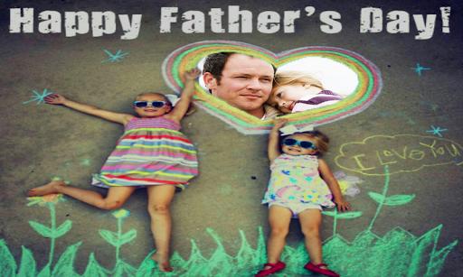 快樂父親節框架