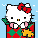 Hello Kitty Christmas Puzzles - Games for Kids 🎄 icon