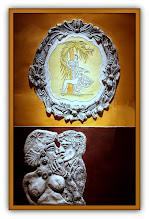 Photo: Antonio Berni El beso 1972. Xilo-collage-relieve. Matriz xilográfica: 81 x 52 cm. Estampa: 90,5 x 61 cm. Colección particular, Buenos Aires. Expo: Antonio Berni. Juanito y Ramona (MALBA 2014-2015)