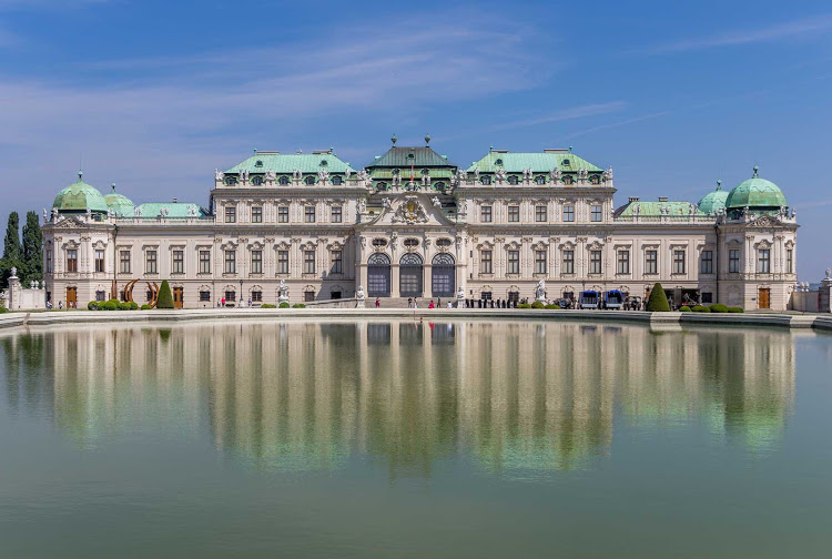 Upper Belvedere Palace in Vienna, Austria. See it on a Crystal river cruise.
