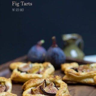 Quick and Easy Fig Tarts.