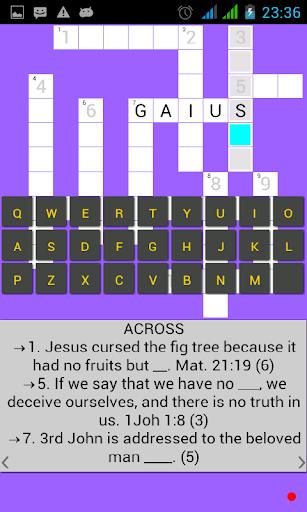 Bible Crossword apktram screenshots 5