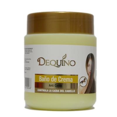 baño de crema dequino anticaida c/silicona 480gr