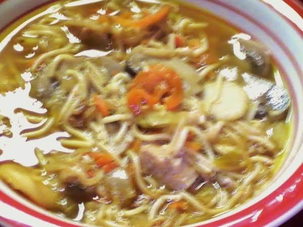 Sherry's Chow Mein Chicken Soup Recipe
