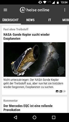 heise online - News 3.4.2 screenshots 1