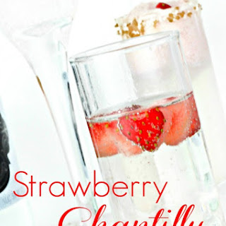 Strawberry Chantilly Cocktail