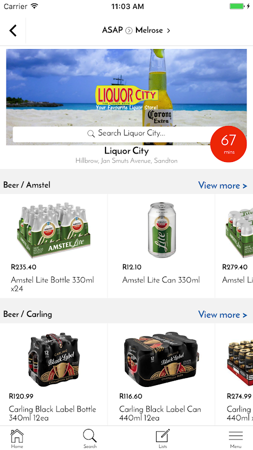 Zulzi: Grocery, Liquor, Food & Pharmacy Delivery- screenshot