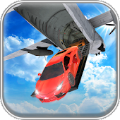 Real Airplane Muscle Car Transporter Simulator 3D