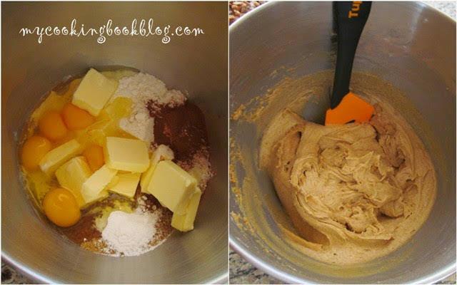 Сладкиш с ябълки и кафява захар