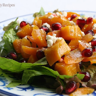 Golden Beet and Pomegranate Salad