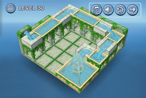 Flow Water Fountain 3D Puzzle Screenshots 3
