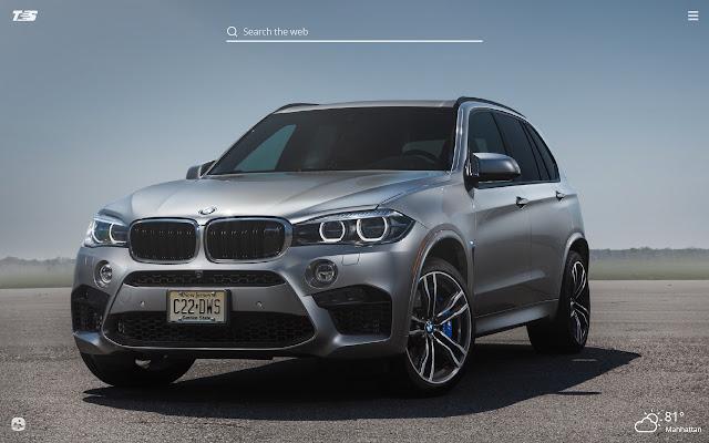 BMW X5 HD Wallpapers New Tab Theme