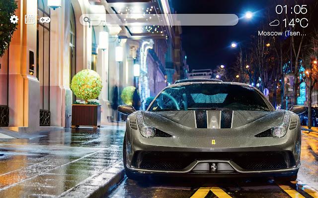 Ferrari HD new free tab theme