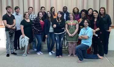 Photo: Religious Studies Students at Diwali Celebration, Fall 2011