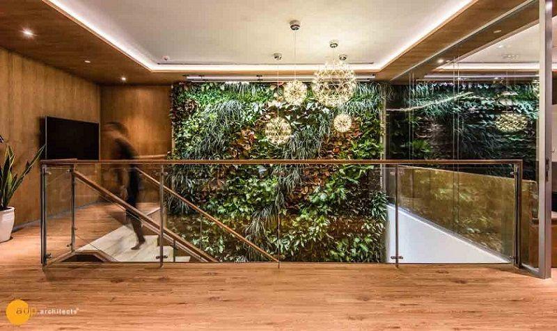 Mảng xanh trong thiết kế văn phòng Keppel Land