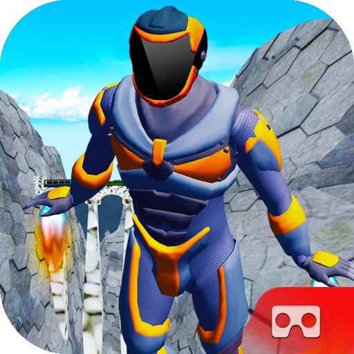 VR Super Flying Hero