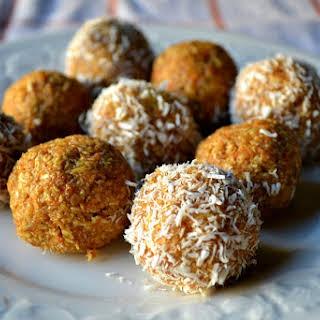 Gluten Free Carrot Cake Balls.