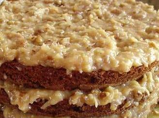 Buttery Coconut Crunch Frosting. Recipe