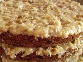 Buttery Coconut Crunch Frosting.