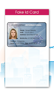 Fake ID Card Maker- screenshot thumbnail