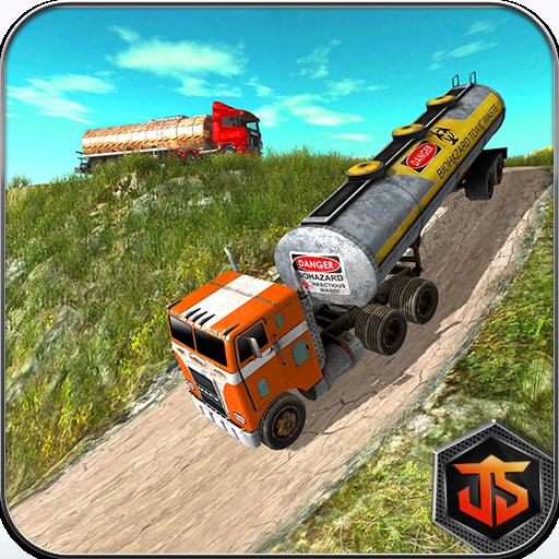 Oil Tanker Truck Transporter Simulator: Hill Cargo